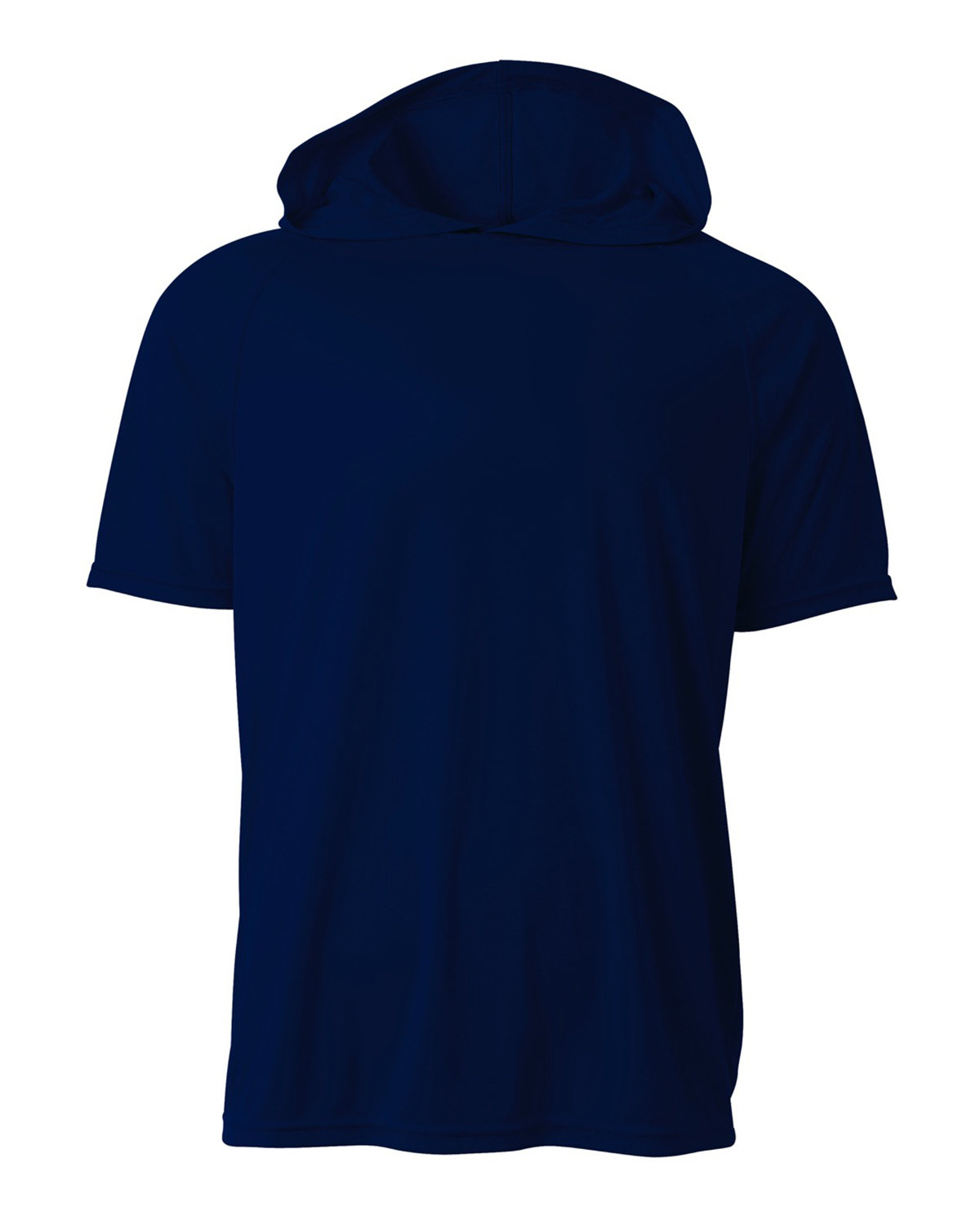 A4 Men's Cooling Performance Hooded T-shirt NAVY