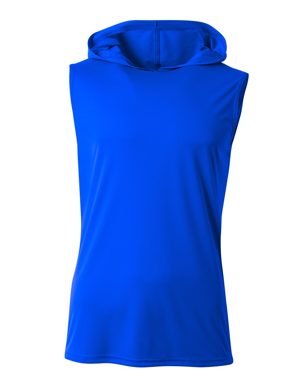 A4 Men's Cooling Performance Sleeveless Hooded T-shirt ROYAL