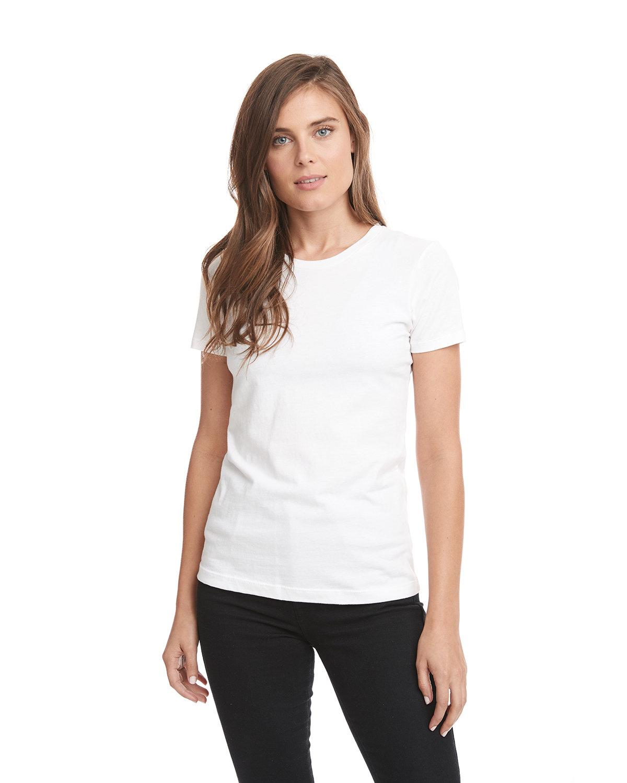 Next Level Ladies' Boyfriend T-Shirt WHITE