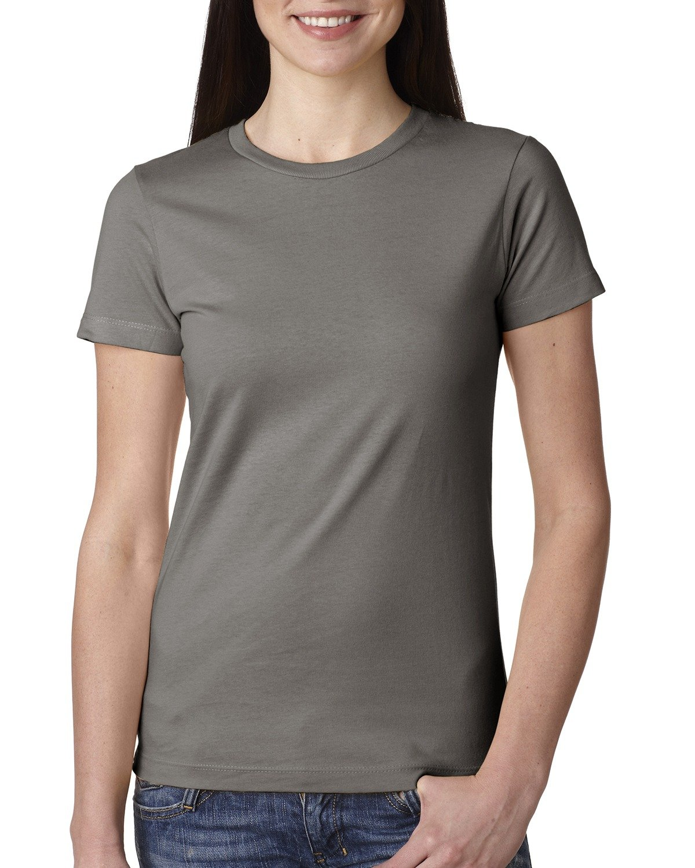 Next Level Ladies' Boyfriend T-Shirt WARM GRAY