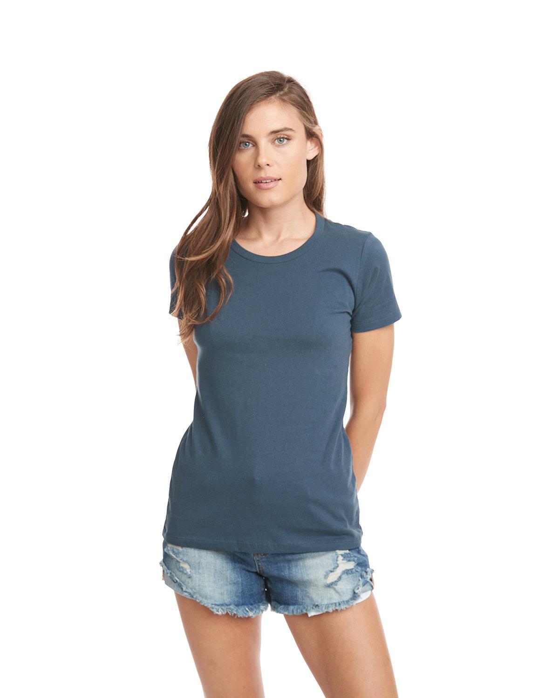 Next Level Ladies' Boyfriend T-Shirt INDIGO