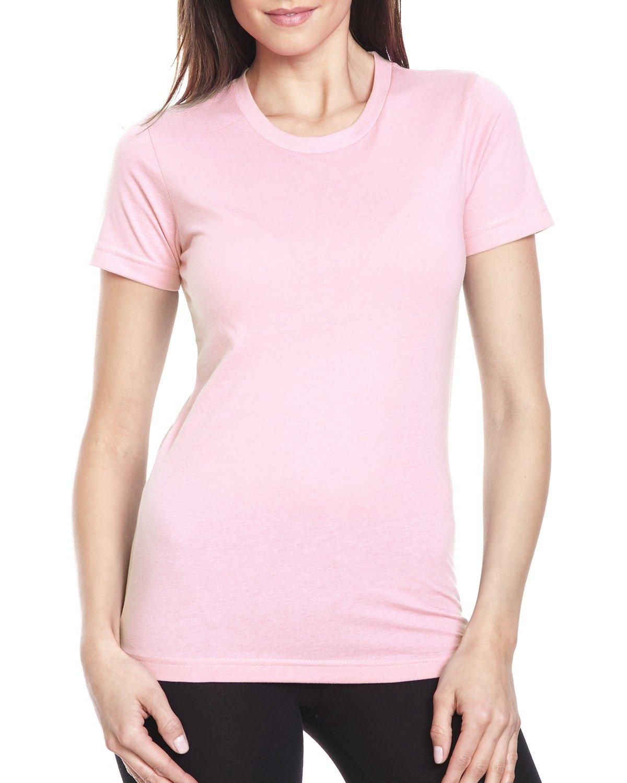 Next Level Ladies' Boyfriend T-Shirt LIGHT PINK