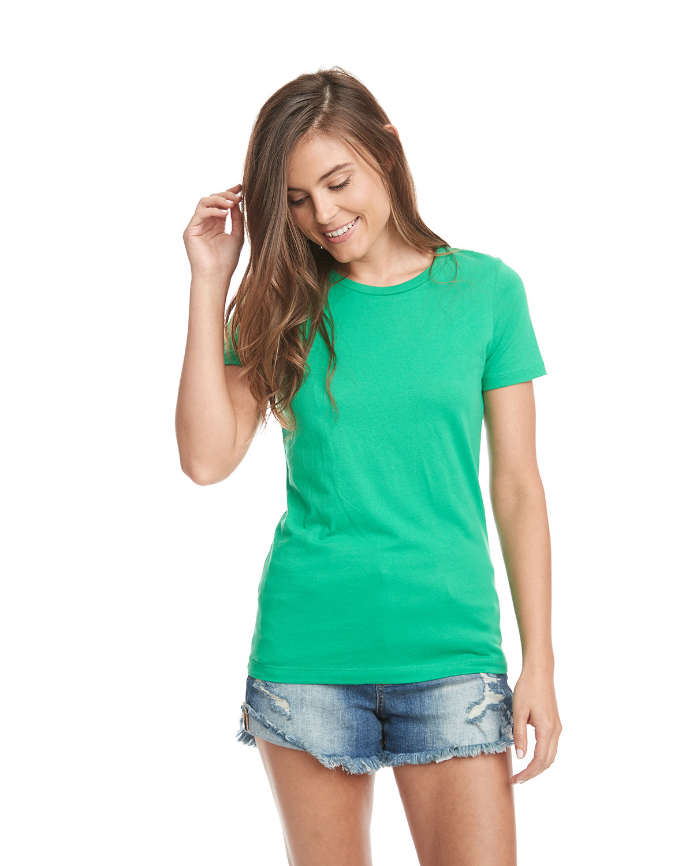Next Level Ladies' Boyfriend T-Shirt KELLY GREEN