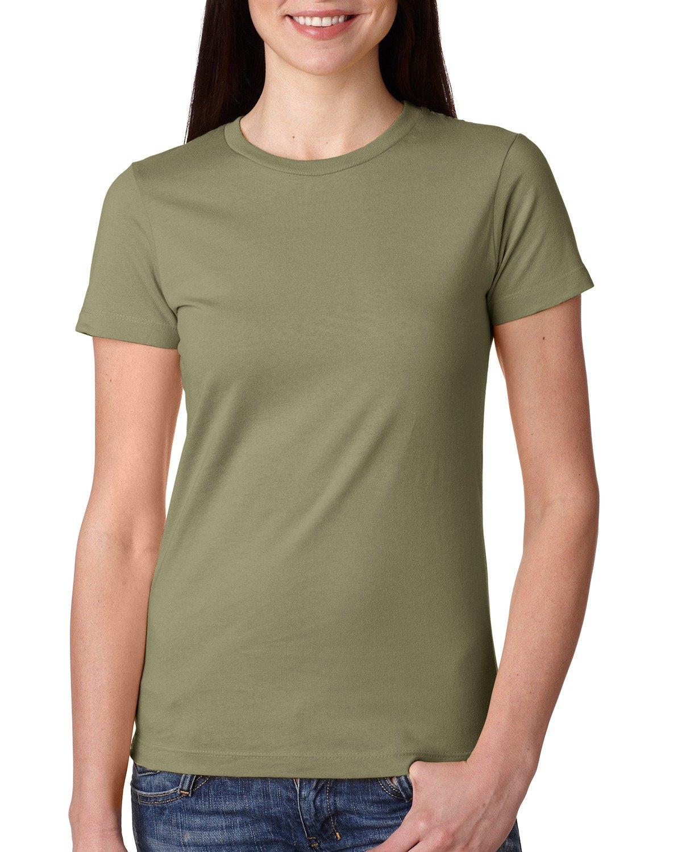 Next Level Ladies' Boyfriend T-Shirt LIGHT OLIVE