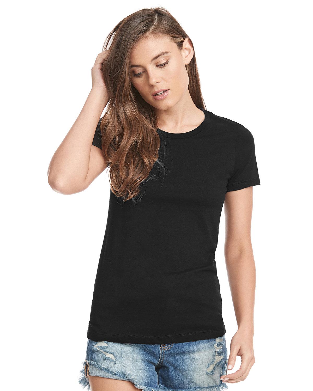 Next Level Ladies' Boyfriend T-Shirt BLACK