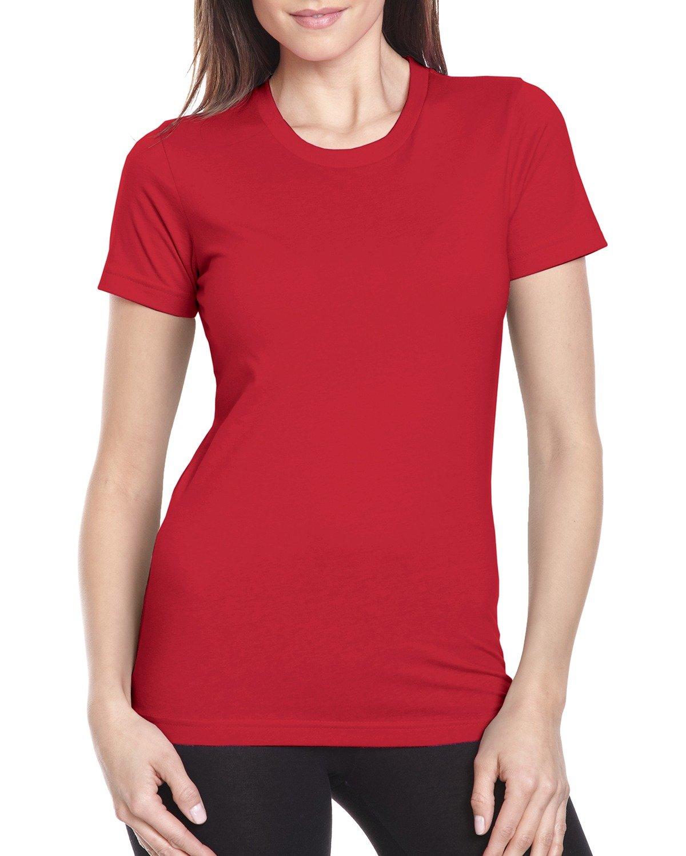 Next Level Ladies' Boyfriend T-Shirt RED