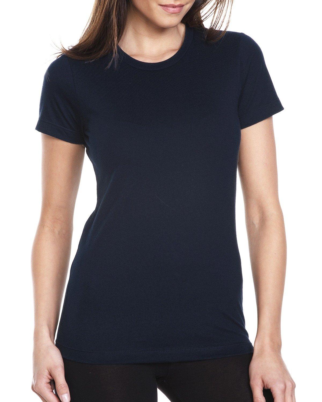 Next Level Ladies' Boyfriend T-Shirt MIDNIGHT NAVY