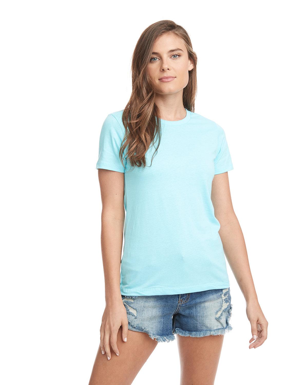 Next Level Ladies' Boyfriend T-Shirt LIGHT BLUE