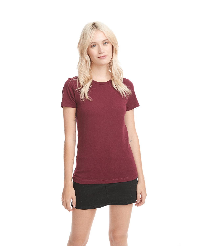Next Level Ladies' Boyfriend T-Shirt CARDINAL