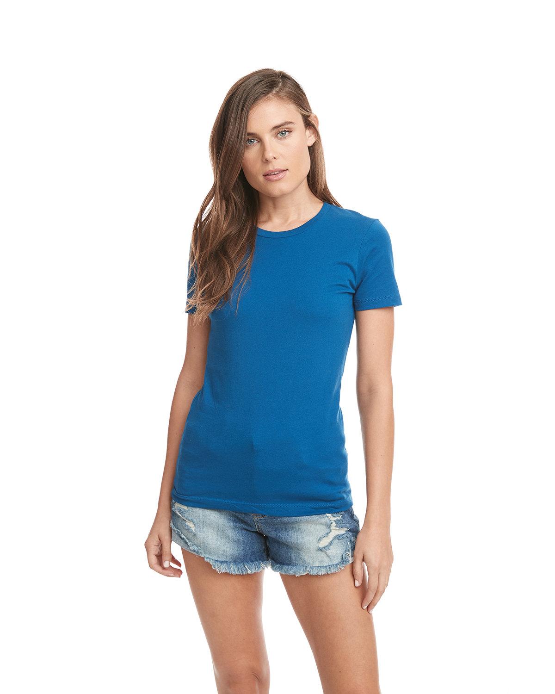 Next Level Ladies' Boyfriend T-Shirt TURQUOISE