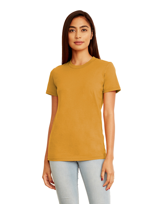 Next Level Ladies' Boyfriend T-Shirt ANTIQUE GOLD
