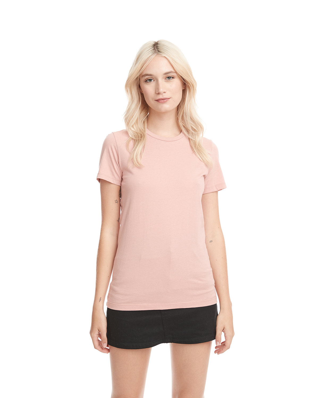 Next Level Ladies' Boyfriend T-Shirt DESERT PINK