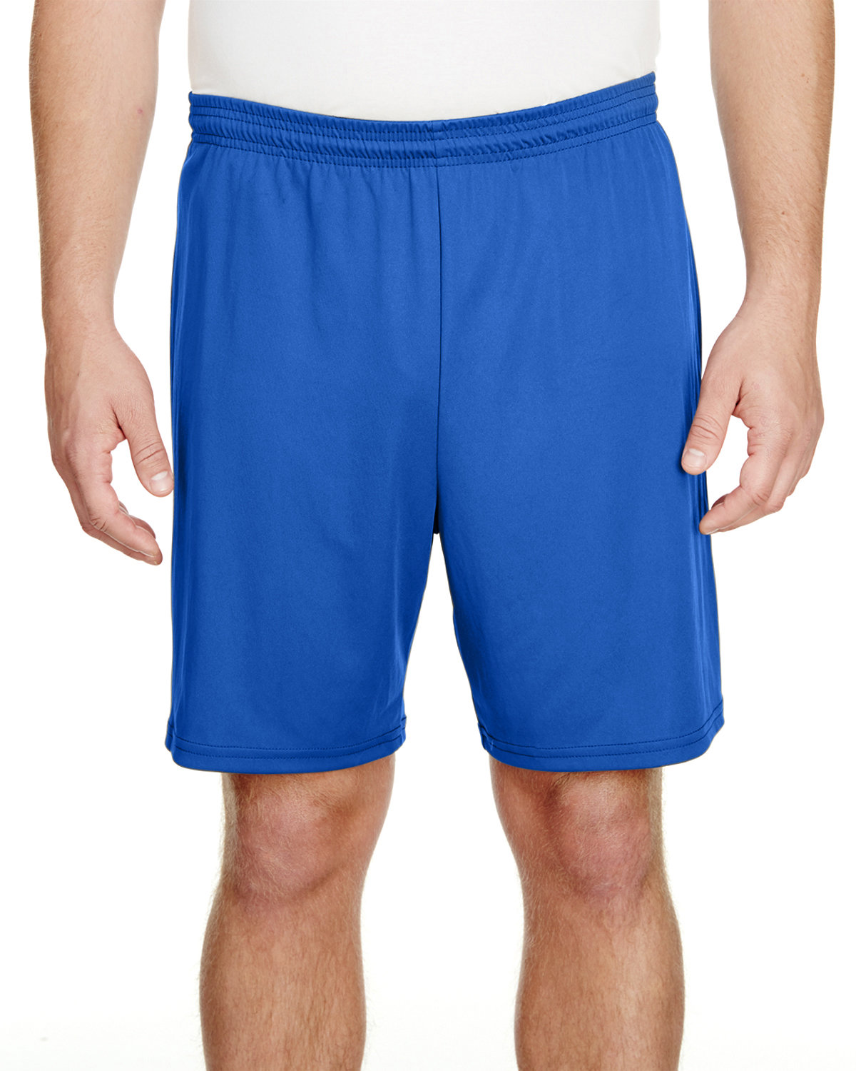 """A4 Adult 7"""" Inseam Cooling Performance Shorts ROYAL"""