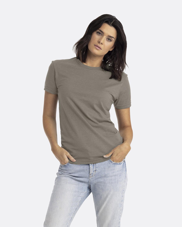 Next Level Unisex CVC Crewneck T-Shirt WARM GRAY