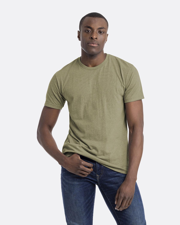 Next Level Unisex CVC Crewneck T-Shirt LIGHT OLIVE