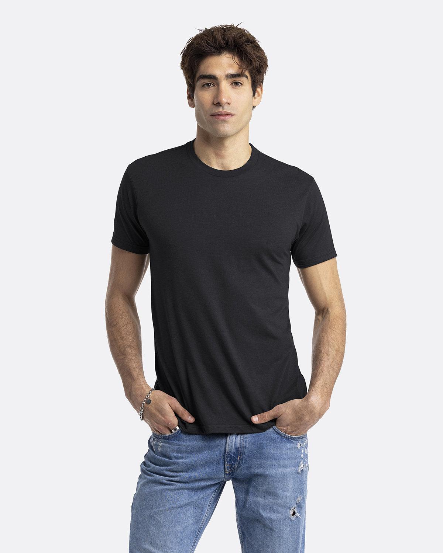 Next Level Unisex CVC Crewneck T-Shirt BLACK