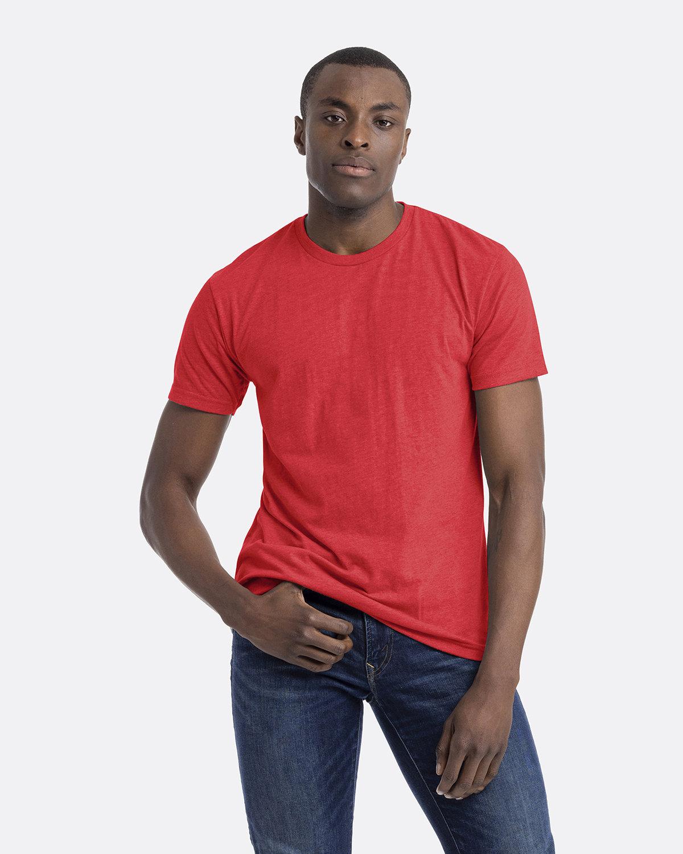 Next Level Unisex CVC Crewneck T-Shirt RED
