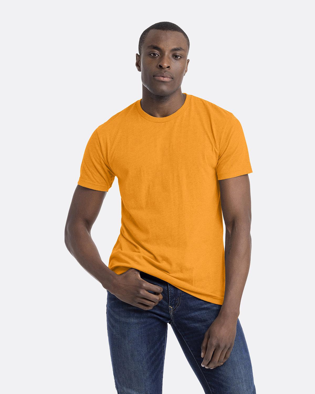Next Level Unisex CVC Crewneck T-Shirt ORANGE