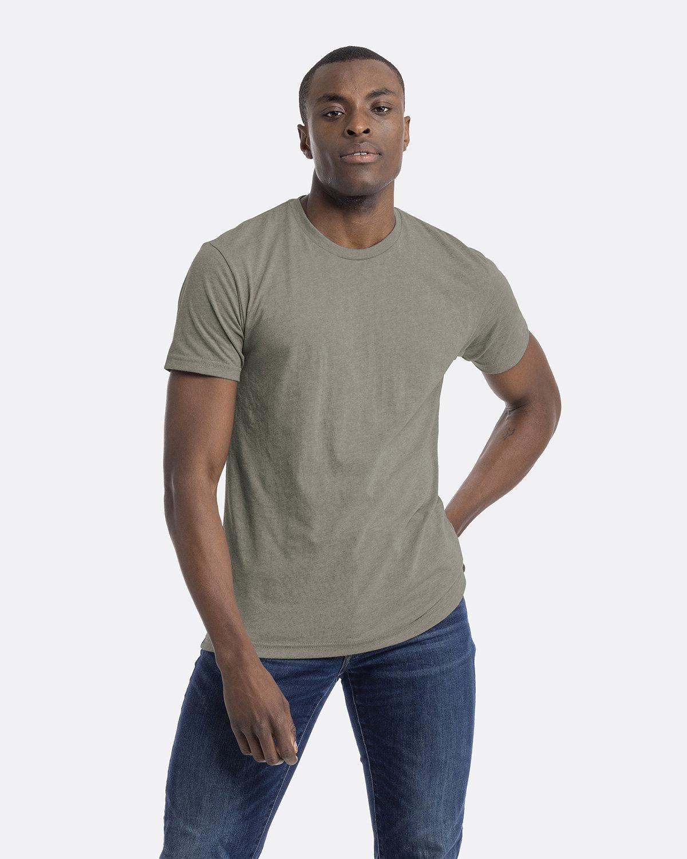 Next Level Unisex CVC Crewneck T-Shirt STONE GRAY