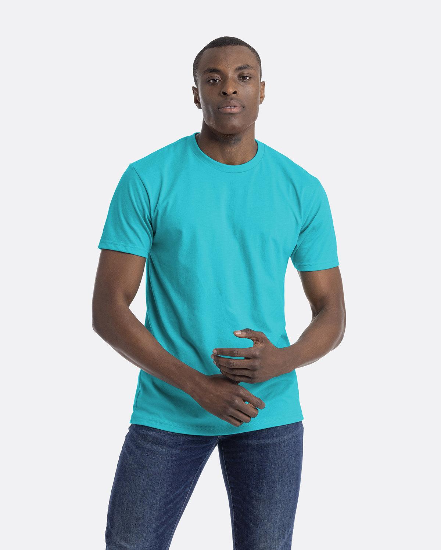 Next Level Unisex CVC Crewneck T-Shirt TAHITI BLUE