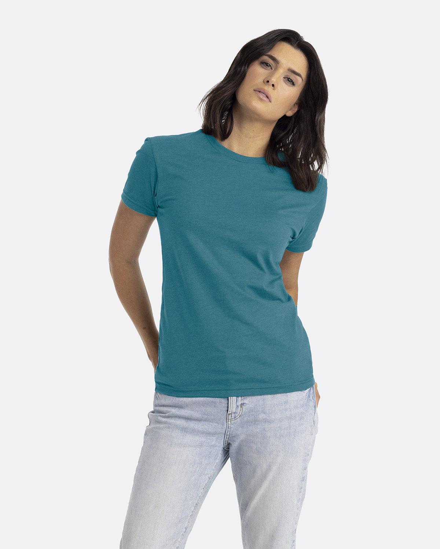 Next Level Unisex CVC Crewneck T-Shirt TEAL