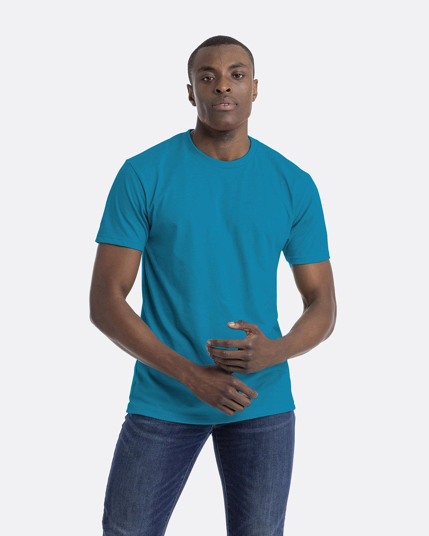 Next Level Unisex CVC Crewneck T-Shirt TURQUOISE