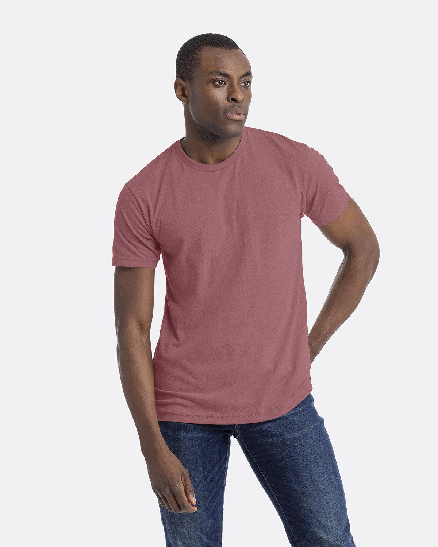 Next Level Unisex CVC Crewneck T-Shirt HEATHER MAUVE