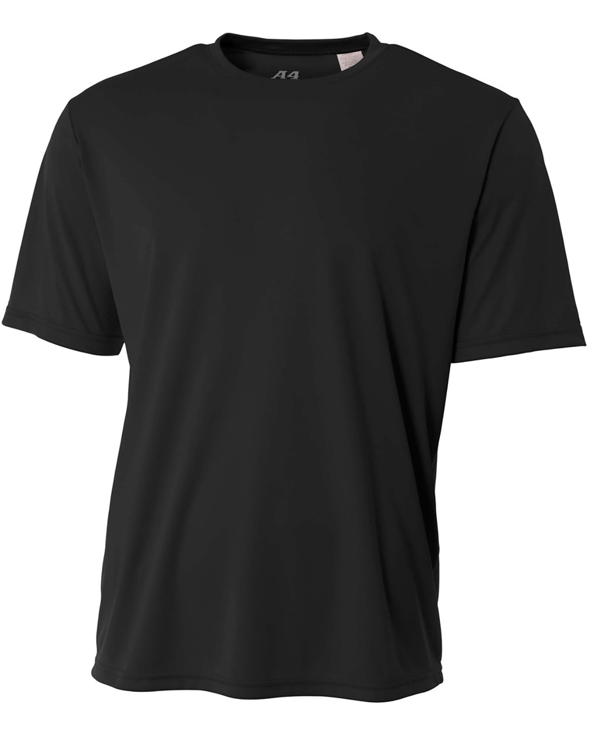 A4 Youth Cooling Performance T-Shirt BLACK