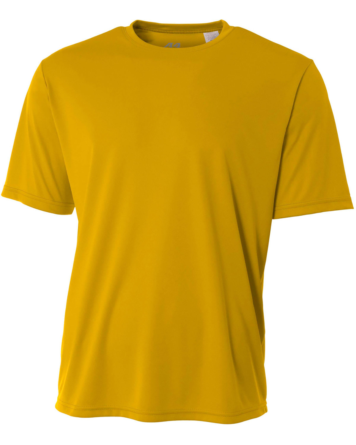 A4 Youth Cooling Performance T-Shirt GOLD