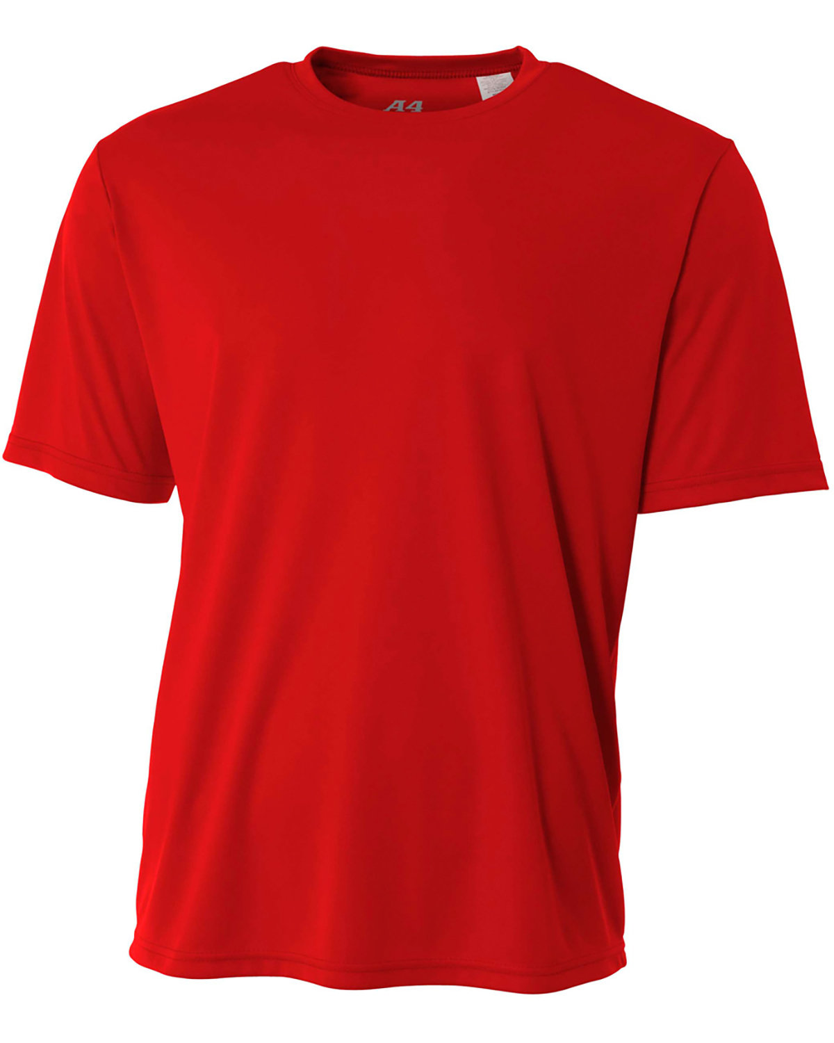 A4 Youth Cooling Performance T-Shirt SCARLET