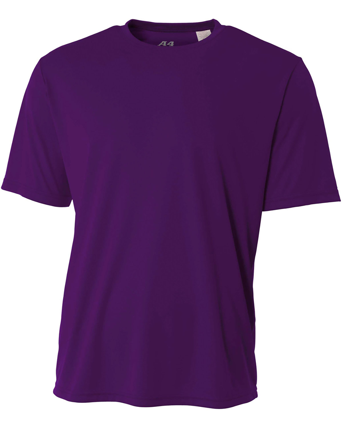 A4 Youth Cooling Performance T-Shirt PURPLE