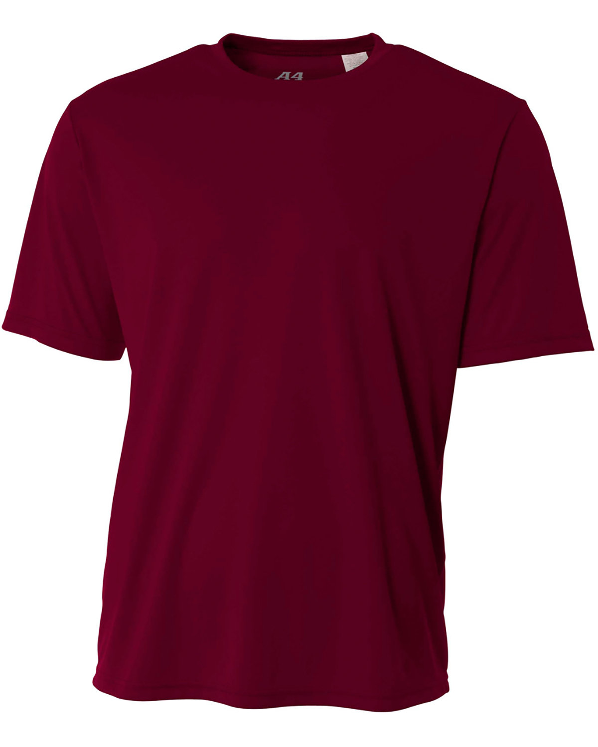 A4 Youth Cooling Performance T-Shirt MAROON