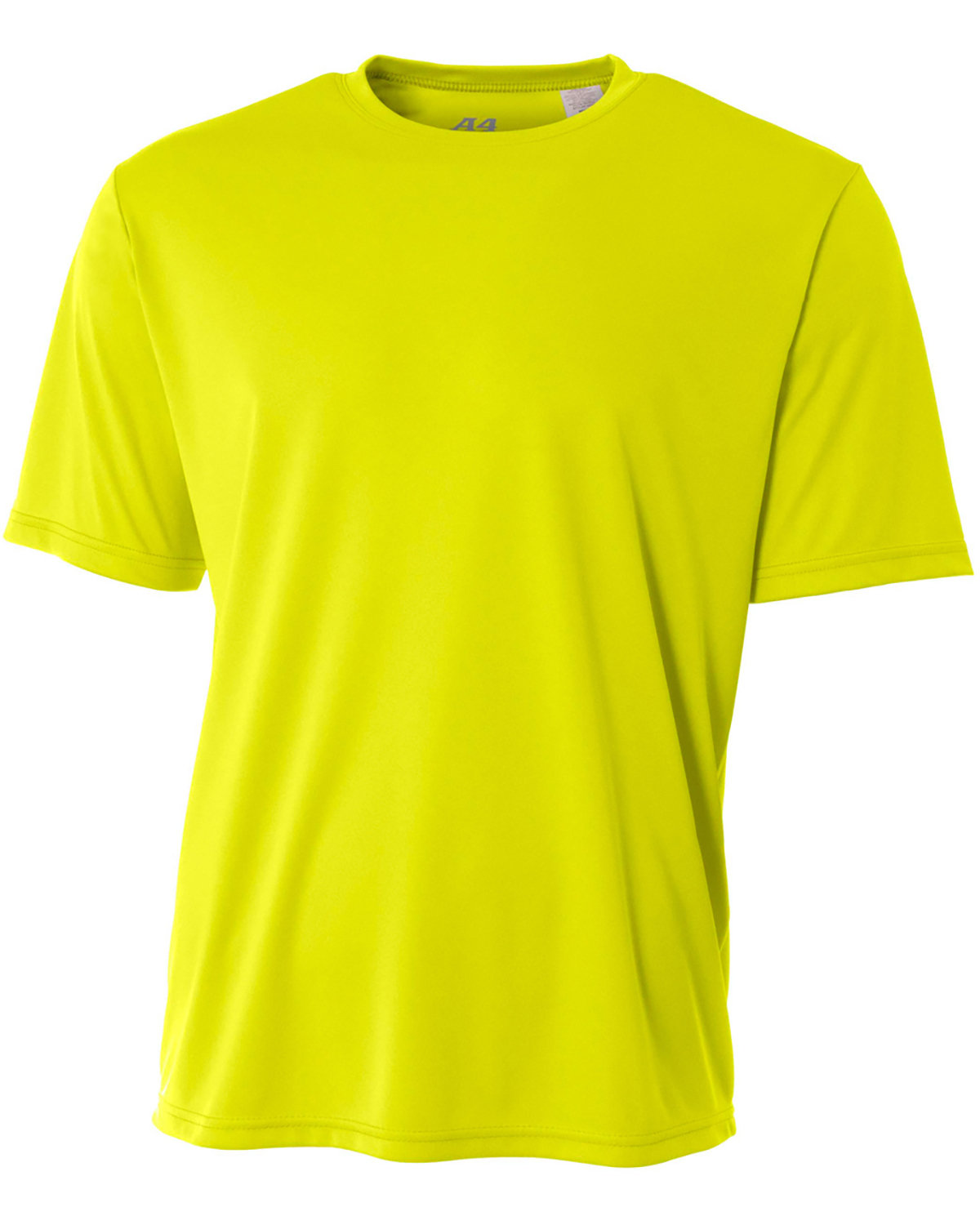A4 Youth Cooling Performance T-Shirt SAFETY YELLOW
