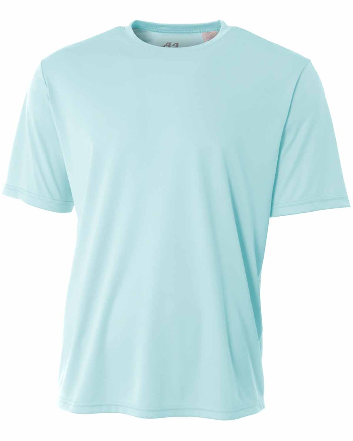A4 Youth Cooling Performance T-Shirt PASTEL BLUE