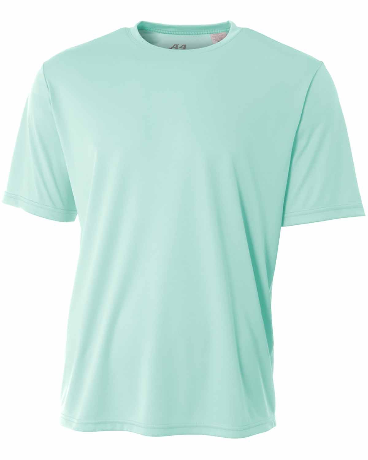 A4 Youth Cooling Performance T-Shirt PASTEL MINT