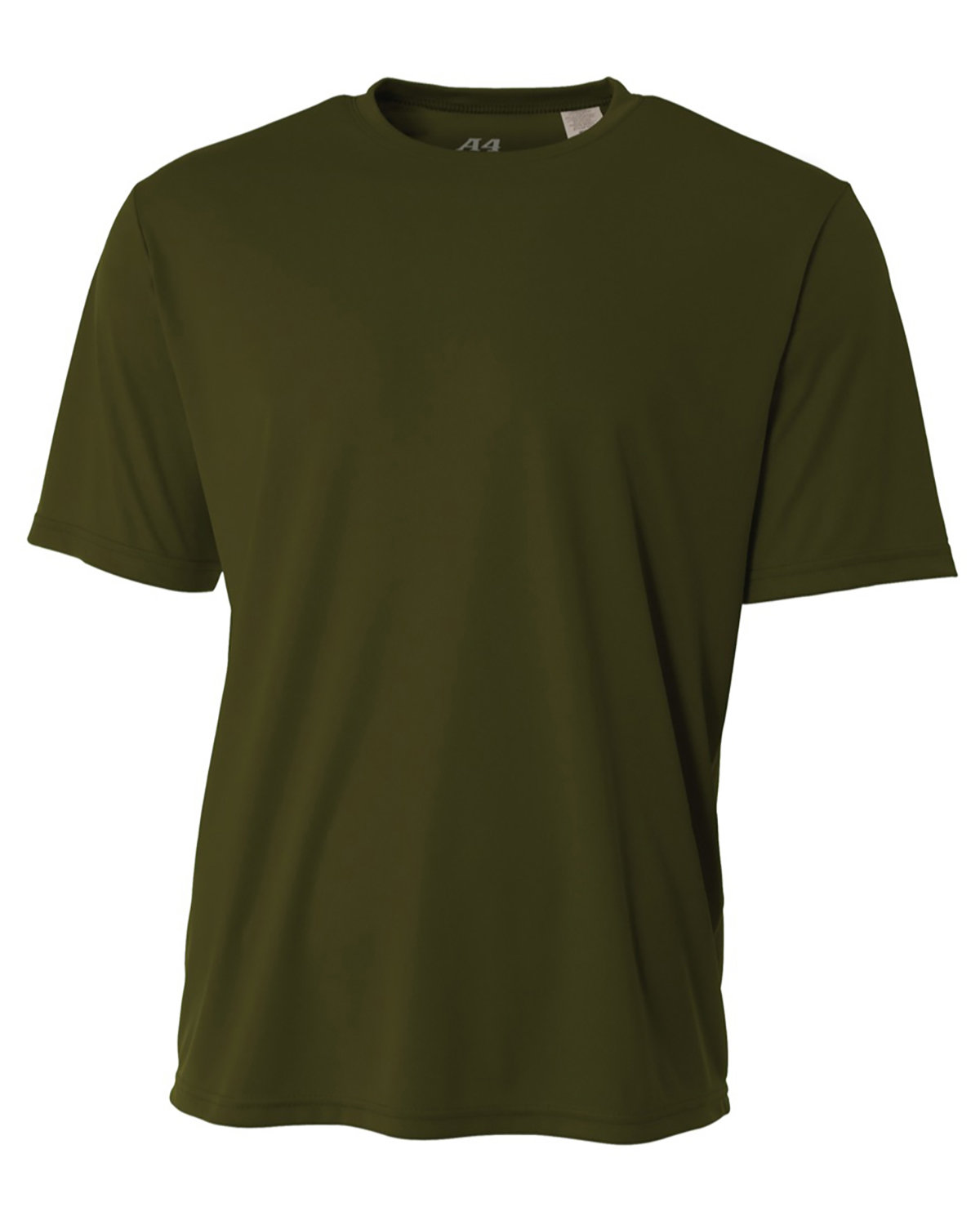 A4 Youth Cooling Performance T-Shirt MILITARY GREEN
