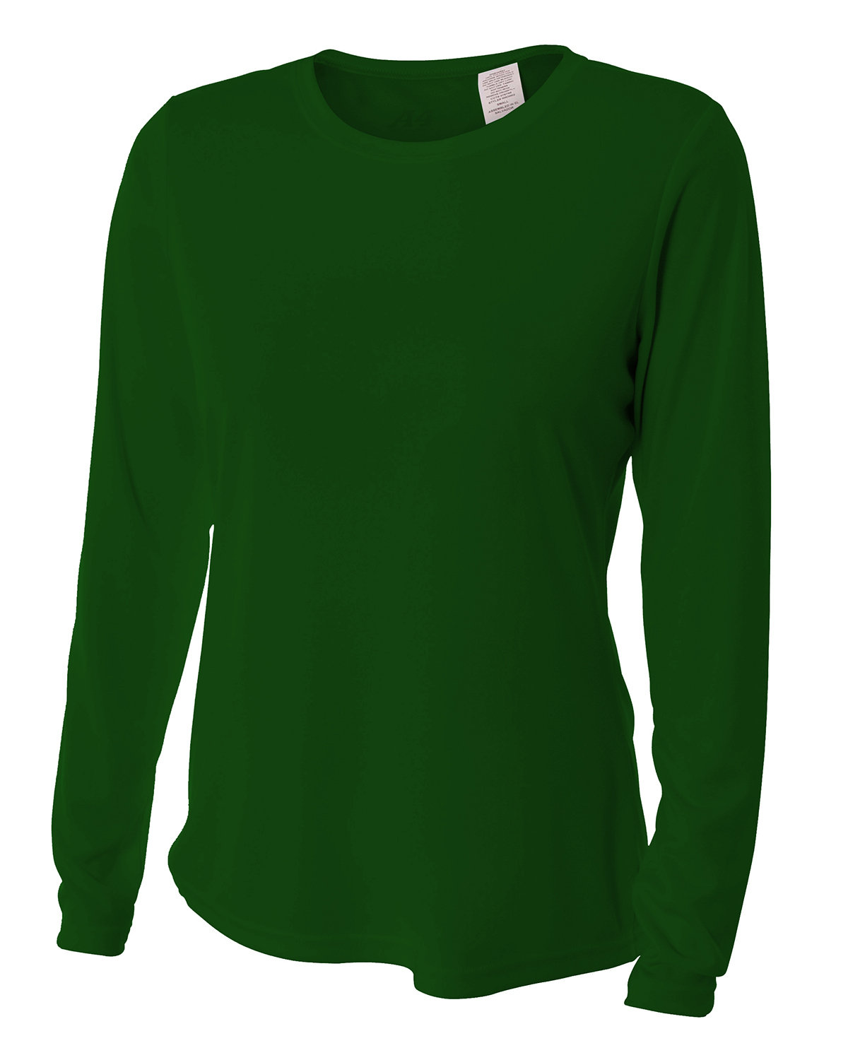 A4 Ladies' Long Sleeve Cooling Performance Crew Shirt FOREST