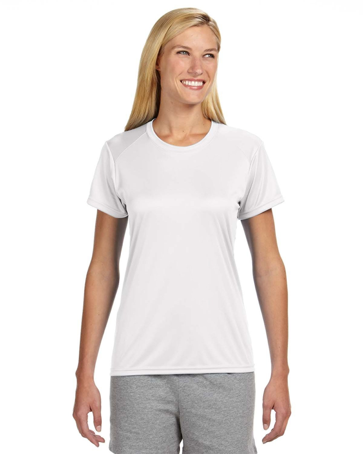 A4 Ladies' Cooling Performance T-Shirt WHITE
