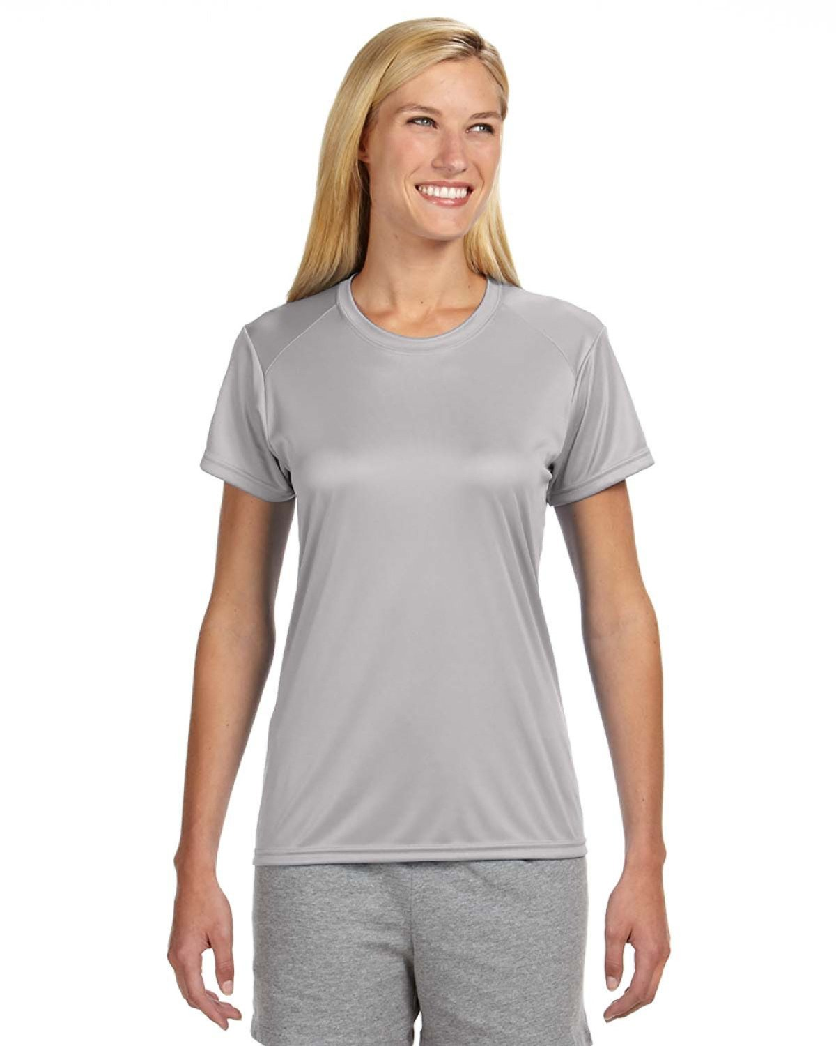 A4 Ladies' Cooling Performance T-Shirt SILVER