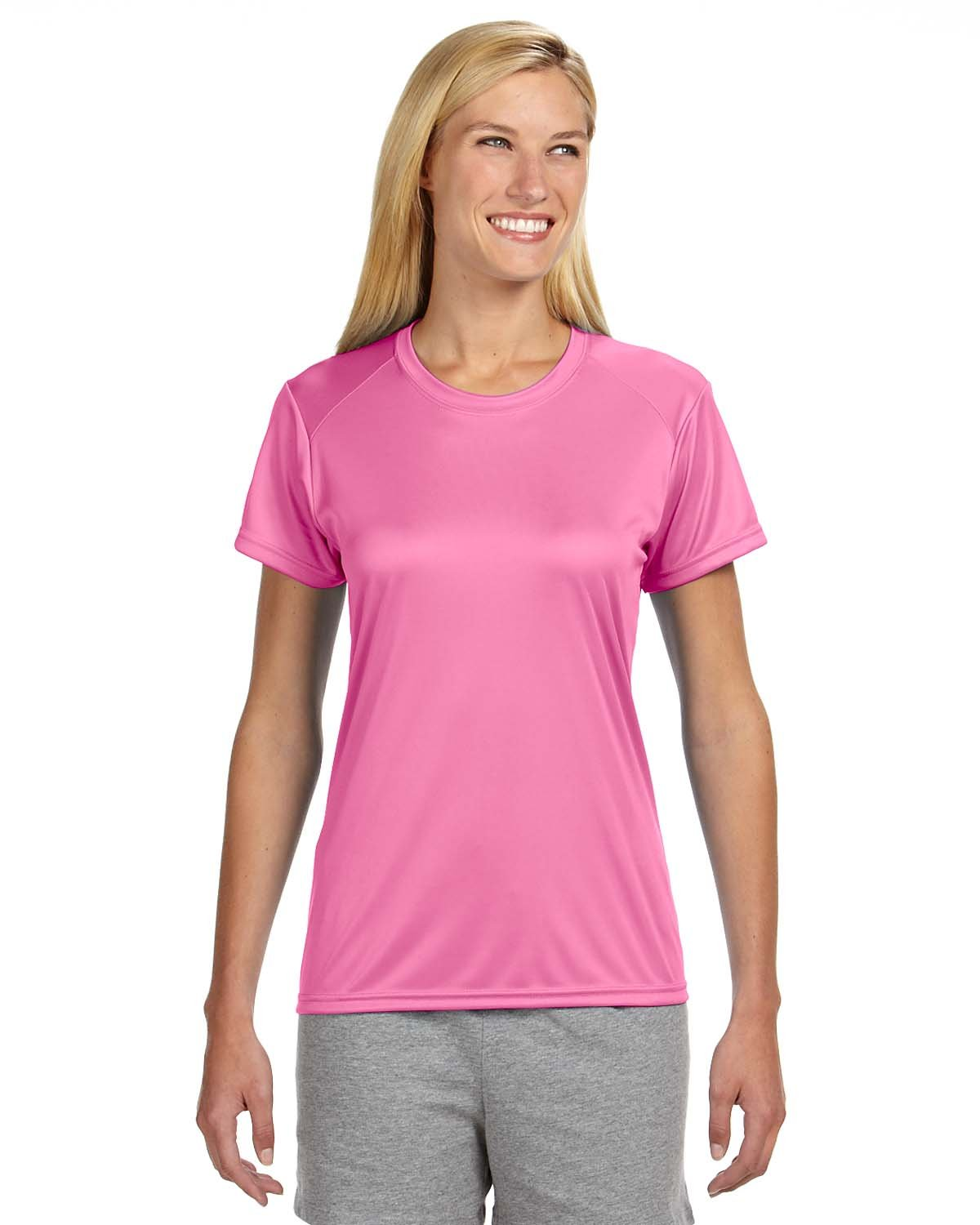A4 Ladies' Cooling Performance T-Shirt PINK
