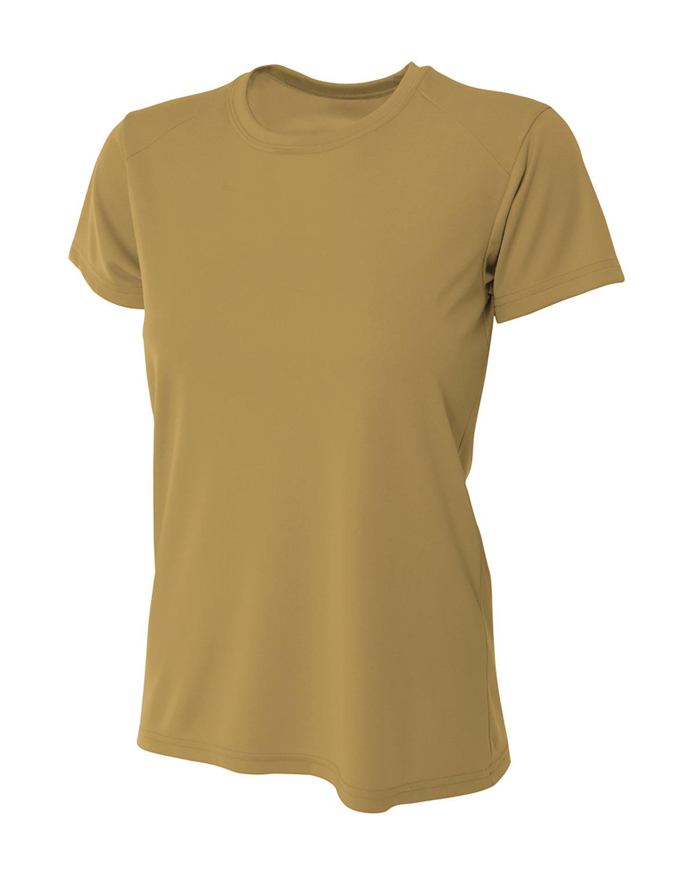 A4 Ladies' Cooling Performance T-Shirt VEGAS GOLD