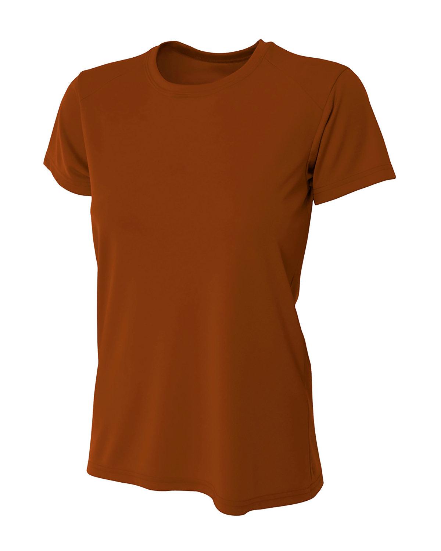 A4 Ladies' Cooling Performance T-Shirt TEXAS ORANGE