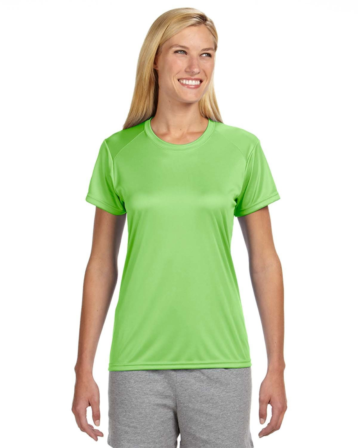 A4 Ladies' Cooling Performance T-Shirt LIME