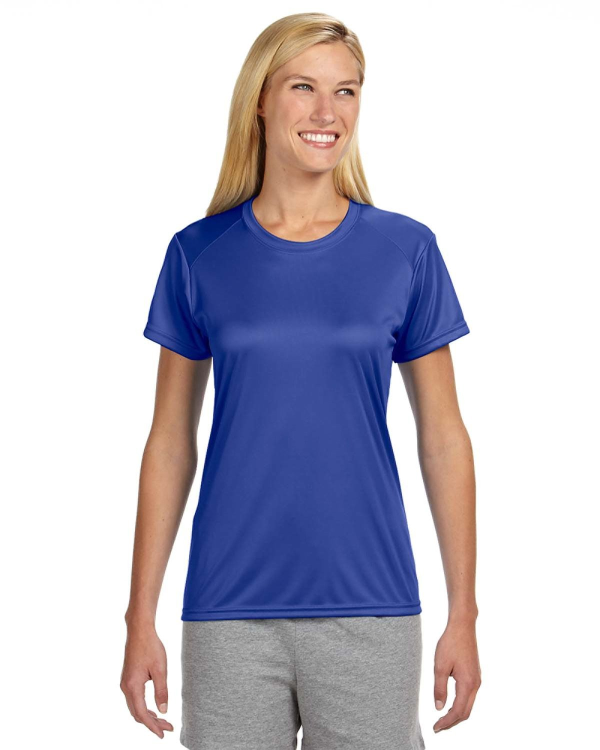 A4 Ladies' Cooling Performance T-Shirt ROYAL
