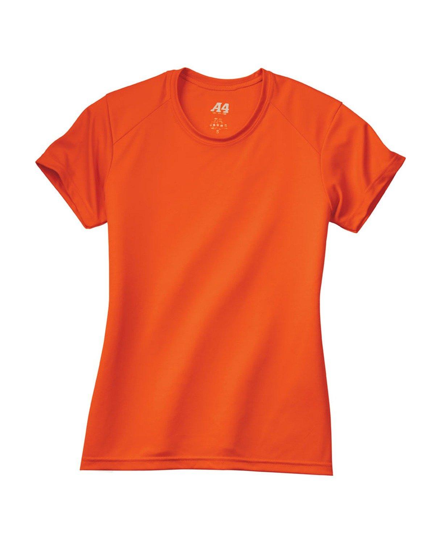 A4 Ladies' Cooling Performance T-Shirt ATHLETIC ORANGE