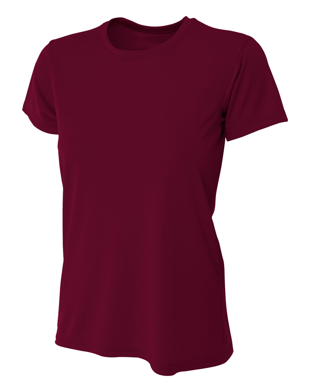 A4 Ladies' Cooling Performance T-Shirt MAROON