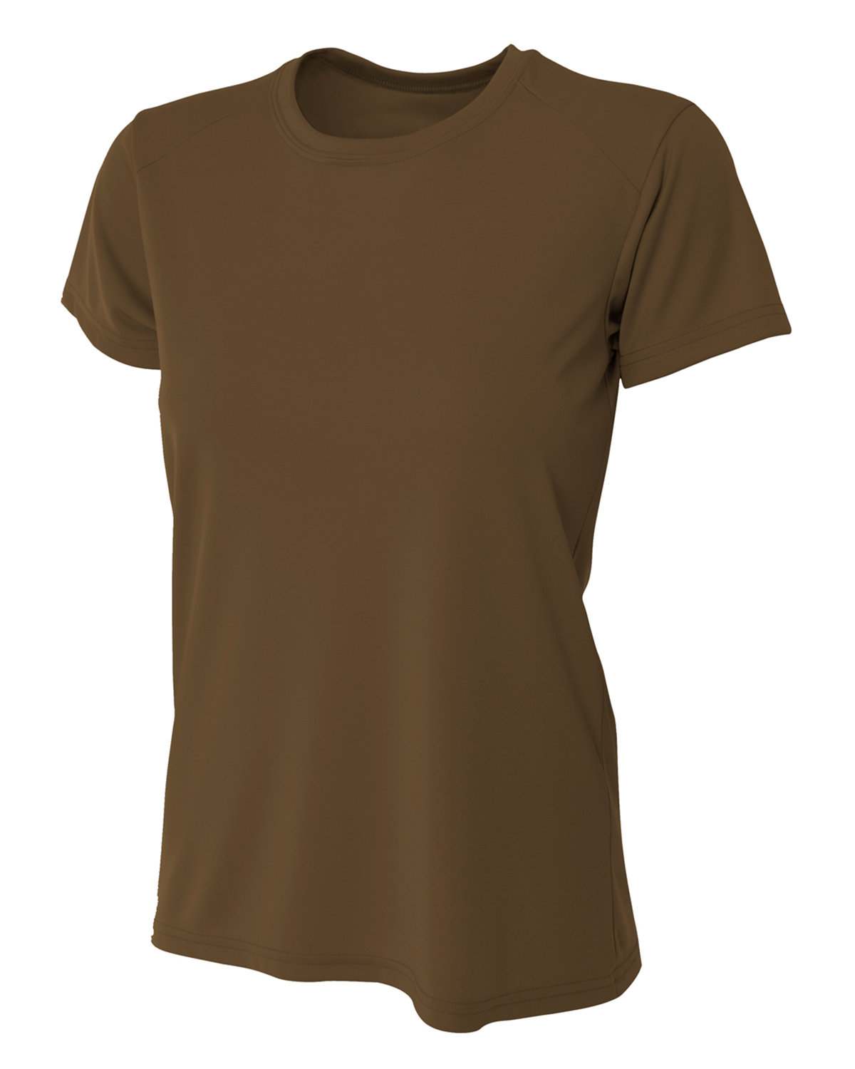 A4 Ladies' Cooling Performance T-Shirt BROWN