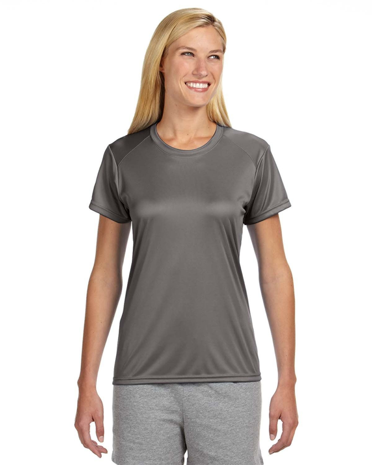 A4 Ladies' Cooling Performance T-Shirt GRAPHITE