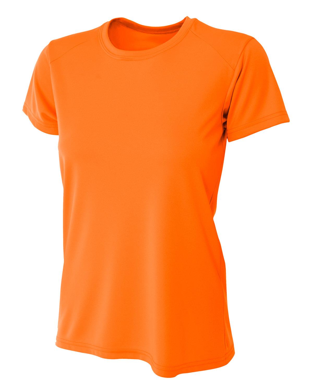 A4 Ladies' Cooling Performance T-Shirt SAFETY ORANGE