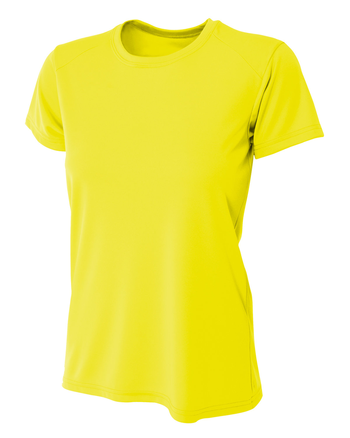 A4 Ladies' Cooling Performance T-Shirt SAFETY YELLOW